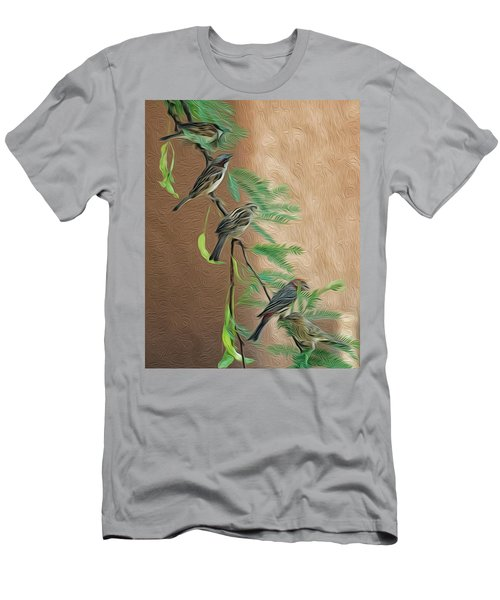 Men's T-Shirt (Athletic Fit) featuring the photograph Full House Op17 by Mark Myhaver