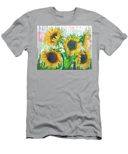 Funflowers Men's T-Shirt (Athletic Fit)