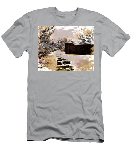 Garden Art Print  Men's T-Shirt (Athletic Fit)