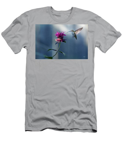 Men's T-Shirt (Slim Fit) featuring the photograph Garden Jewelry by Everet Regal