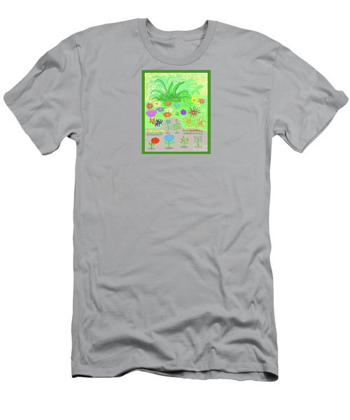 Garden Of Memories Men's T-Shirt (Slim Fit) by Fred Jinkins