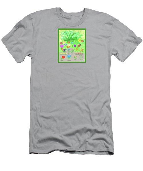 Garden Of Memories Men's T-Shirt (Athletic Fit)
