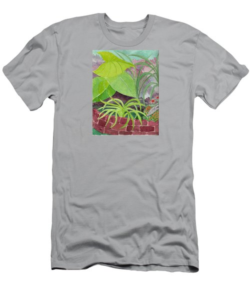 Garden Scene 9-21-10 Men's T-Shirt (Athletic Fit)