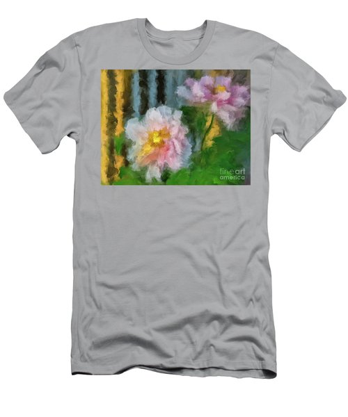 Men's T-Shirt (Athletic Fit) featuring the digital art Garden Variety by Lois Bryan