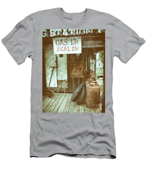 Gas 13 Cents Men's T-Shirt (Athletic Fit)