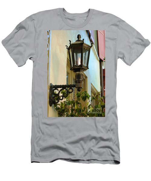Men's T-Shirt (Athletic Fit) featuring the photograph Gas Lite by Donna Bentley