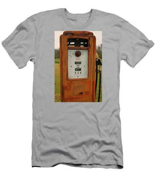 Gasoline Pump Men's T-Shirt (Athletic Fit)
