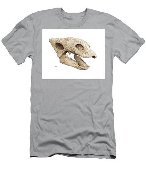 Gastonia Burgei Skull Men's T-Shirt (Athletic Fit)