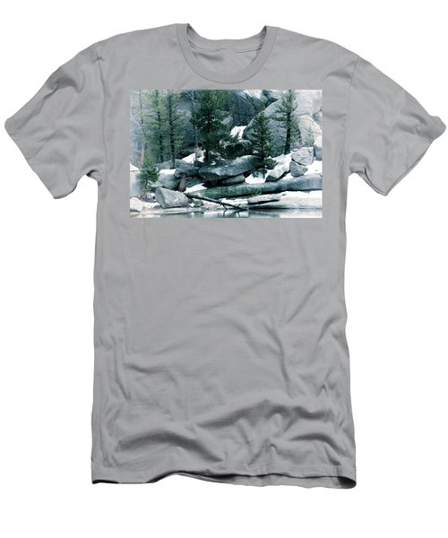 Gem Lake Men's T-Shirt (Athletic Fit)