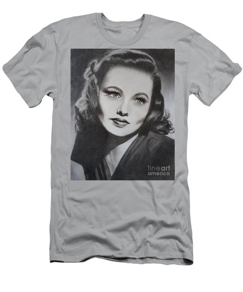 Gene Tierney  Men's T-Shirt (Athletic Fit)