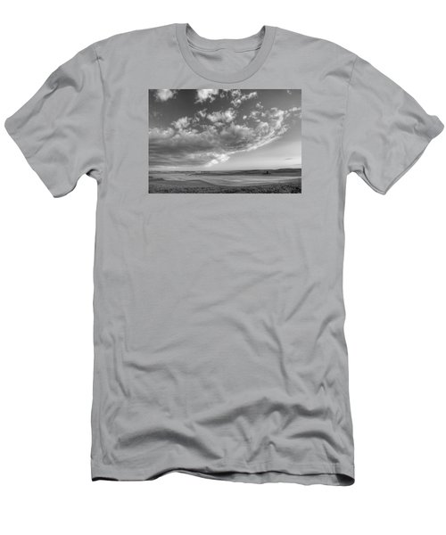Genesee Country B And W Men's T-Shirt (Athletic Fit)