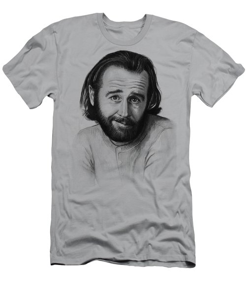 George Carlin Portrait Men's T-Shirt (Athletic Fit)