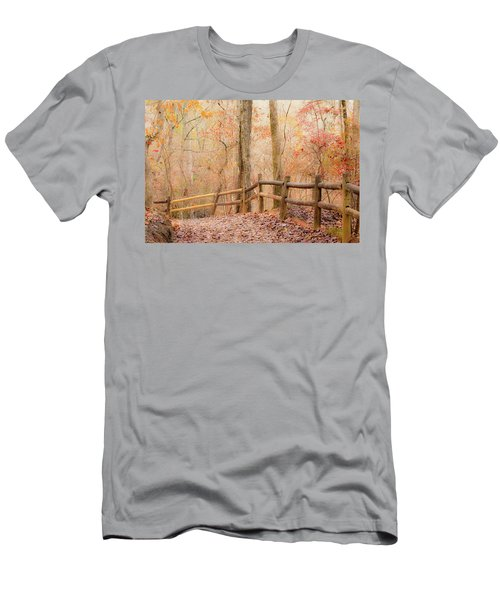 Georgia Fall Men's T-Shirt (Slim Fit) by RC Pics