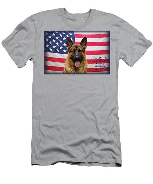 German Shepherd - U.s.a. - Text Men's T-Shirt (Athletic Fit)