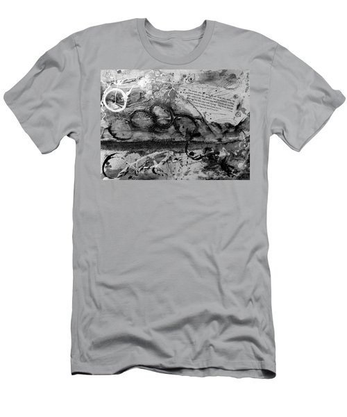 Get Into The Game Men's T-Shirt (Slim Fit) by Tracy Bonin