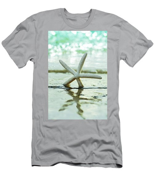 Men's T-Shirt (Athletic Fit) featuring the photograph Get Your Feet Wet by Laura Fasulo