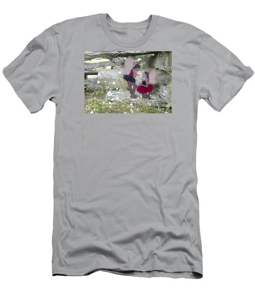 Getting Her Wings Men's T-Shirt (Athletic Fit)