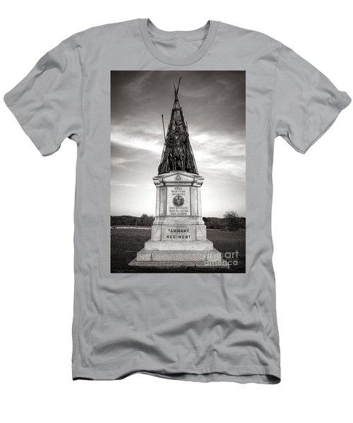 Gettysburg National Park 42nd New York Infantry Monument Men's T-Shirt (Athletic Fit)