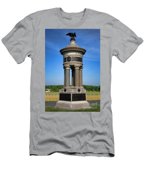 Gettysburg National Park 71st And 72nd New York Infantry Memorial Men's T-Shirt (Athletic Fit)