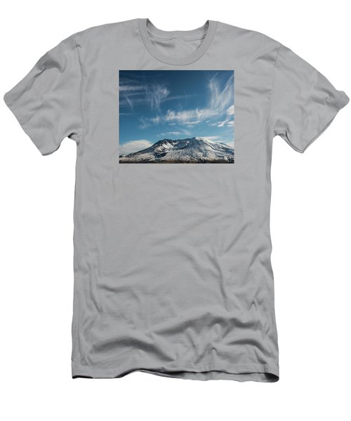 Ghost Clouds Men's T-Shirt (Athletic Fit)