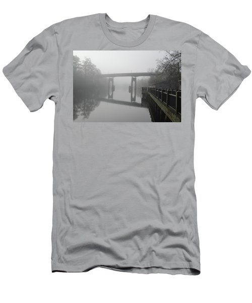 Ghost River Men's T-Shirt (Slim Fit) by Gordon Mooneyhan
