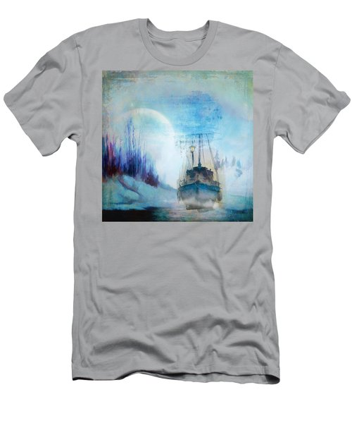 Ghost Ship Men's T-Shirt (Slim Fit) by Diana Boyd