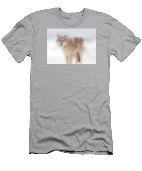 Ghost Wolf Men's T-Shirt (Athletic Fit)