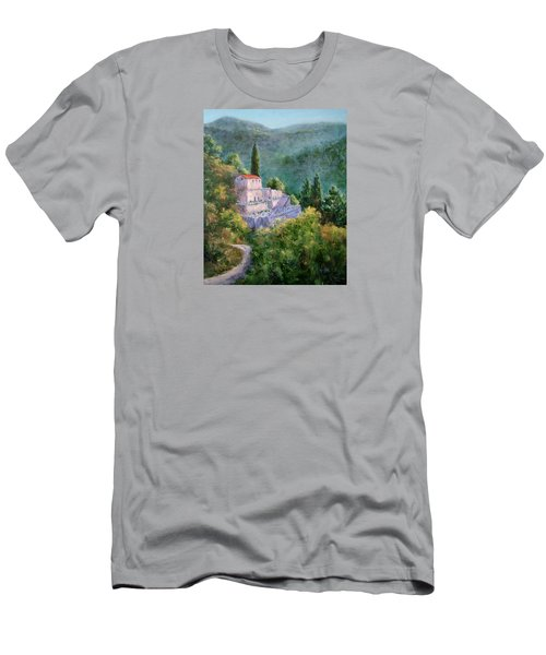 Ghosts Of The Peloponnese Men's T-Shirt (Slim Fit) by Jill Musser