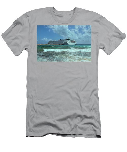 Men's T-Shirt (Athletic Fit) featuring the photograph Giants Of The Sea by John M Bailey