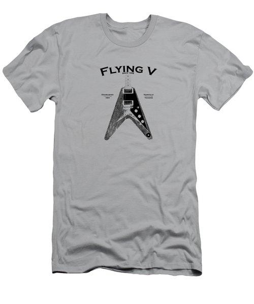 Gibson Flying V Men's T-Shirt (Athletic Fit)