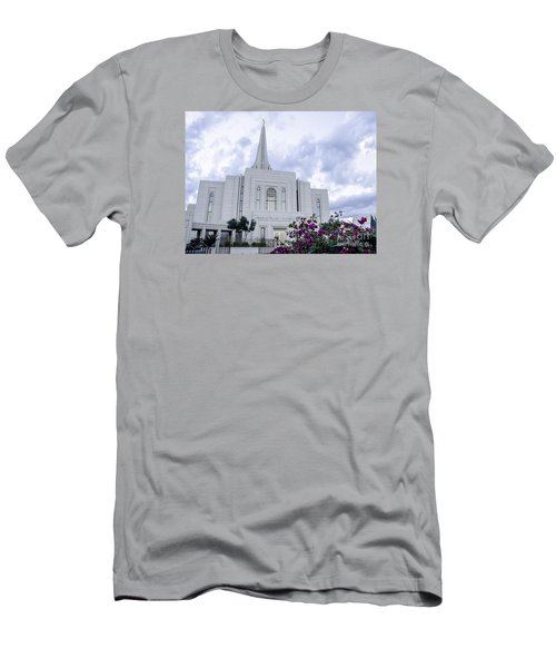 Gilbert Arizona Lds Temple 2 Men's T-Shirt (Athletic Fit)