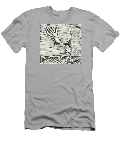 Give Me A Hand Men's T-Shirt (Athletic Fit)