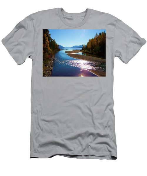 Glacier Park 9 Men's T-Shirt (Athletic Fit)