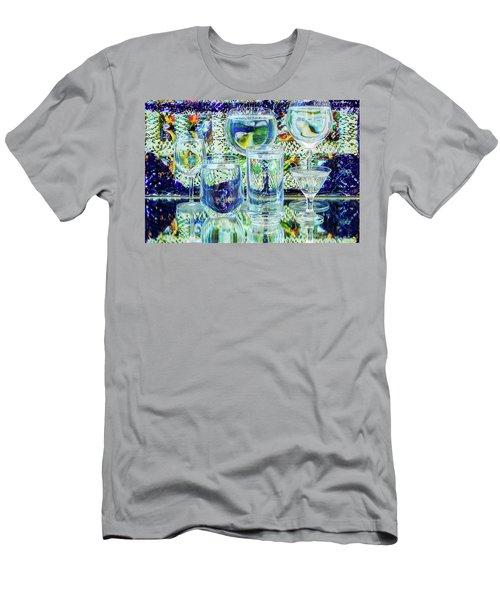 Glass Blues Men's T-Shirt (Athletic Fit)