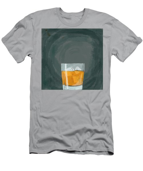 Glass, Ice,  Men's T-Shirt (Athletic Fit)