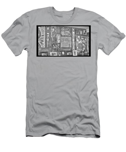 Glimpses Of Where Art Lives 4 Men's T-Shirt (Athletic Fit)