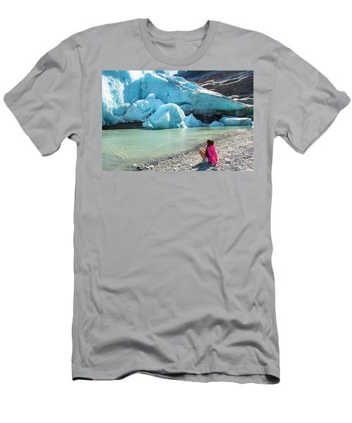 Global Warming Men's T-Shirt (Slim Fit) by Tamara Sushko