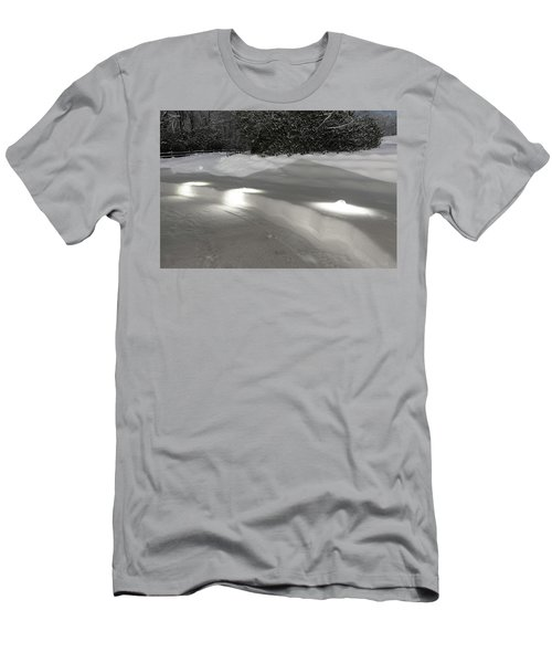 Glowing Landscape Lighting Men's T-Shirt (Athletic Fit)