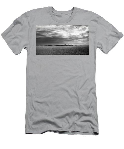 Goat Island Light, Cape Porpoise, Maine Men's T-Shirt (Athletic Fit)