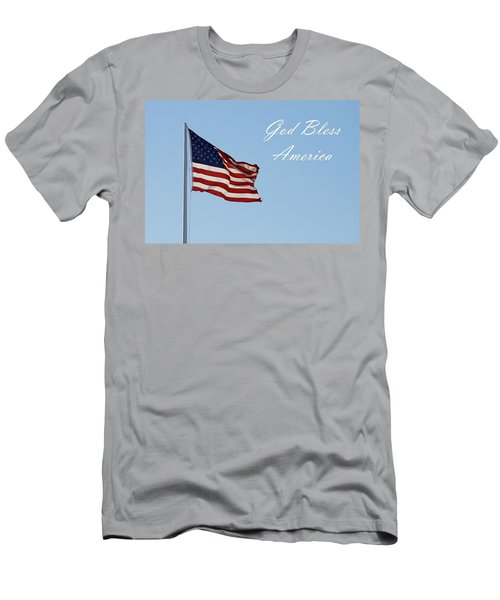God Bless America Men's T-Shirt (Athletic Fit)