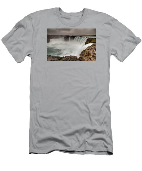 Godafoss Men's T-Shirt (Athletic Fit)