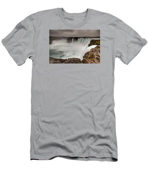 Godafoss Men's T-Shirt (Athletic Fit)