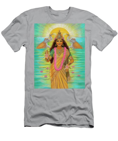 Goddess Lakshmi Men's T-Shirt (Athletic Fit)