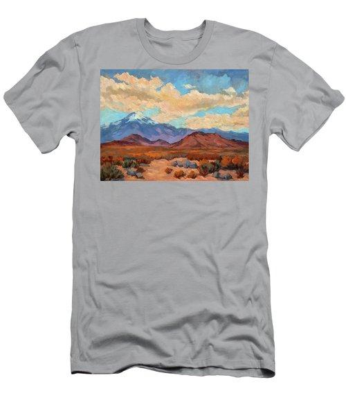 God's Creation Mt. San Gorgonio  Men's T-Shirt (Athletic Fit)