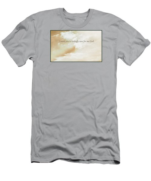 Men's T-Shirt (Athletic Fit) featuring the photograph God's Loving Care by Beauty For God