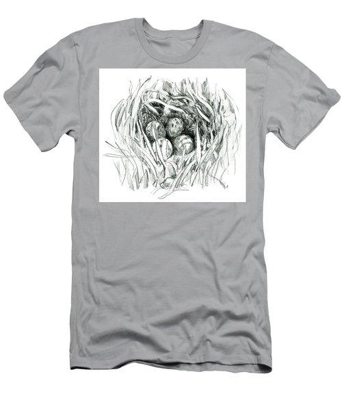 Godwit Nest Men's T-Shirt (Athletic Fit)
