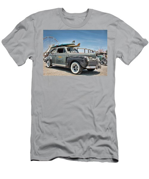 Men's T-Shirt (Athletic Fit) featuring the photograph Going Surfing by Kristia Adams