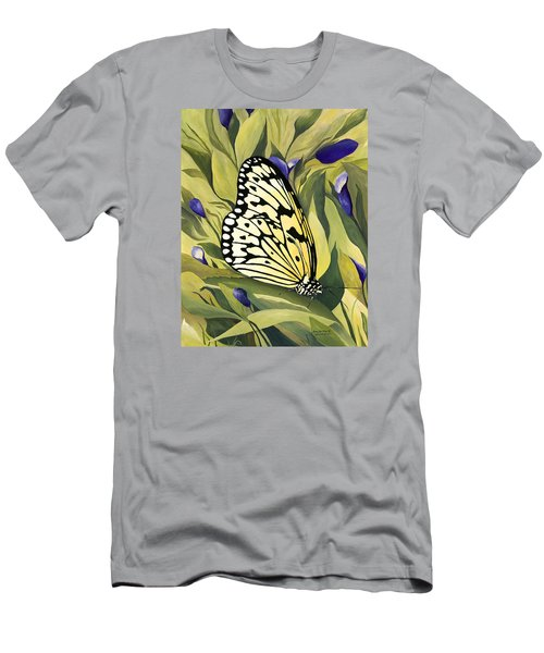Gold Butterfly In Branson Men's T-Shirt (Athletic Fit)