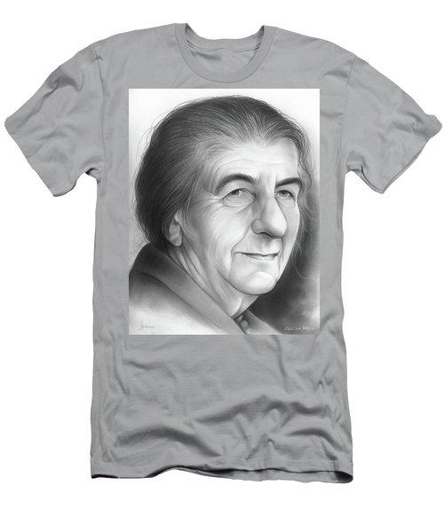 Golda Meir Men's T-Shirt (Athletic Fit)