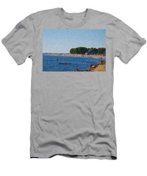 Golden Gardens In Seattle Washington Men's T-Shirt (Athletic Fit)